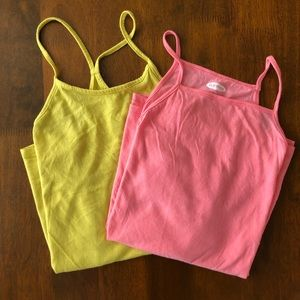 TWO Old Navy Tank Tops